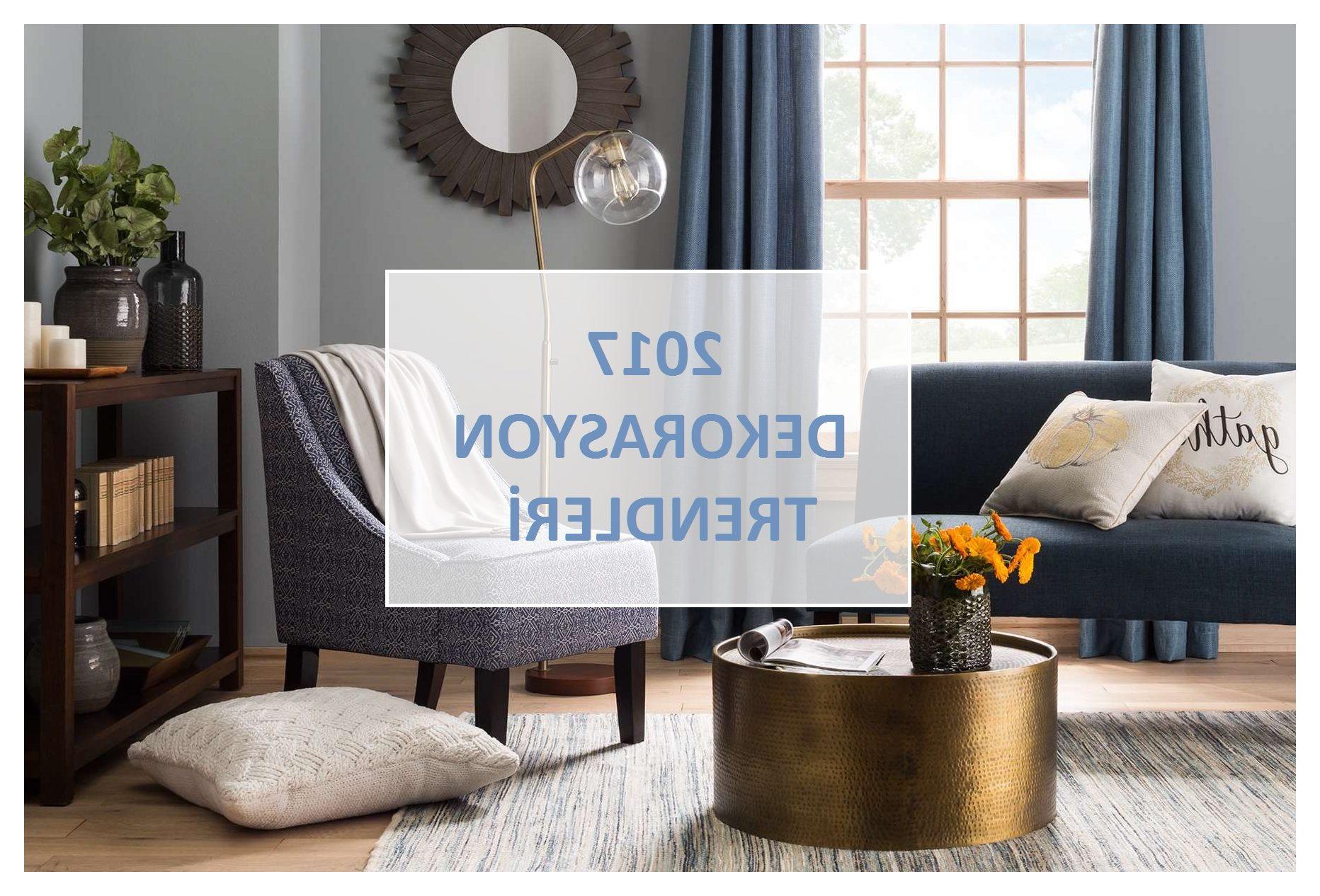 2017 Dekorasyon Trendleri ile Evde Modayı Yakalayın!