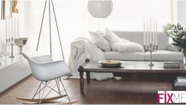Beyaz Renkle Harika Dekorasyonlar