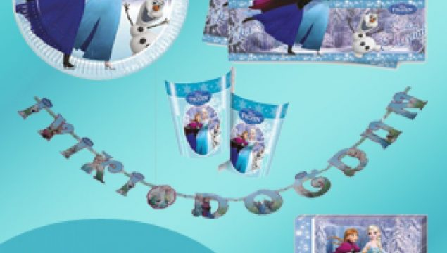 Frozen Doğum Günü Malzemeleri ve Parti Süsleri