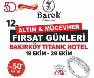12. Altın ve Mücevher Fırsat Günlerinde Ünlüler Geçidi. İstanbul'da Başlıyor
