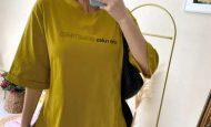 Yandan Yırtmaçlı Tişört Modelleri www.chamakhbutik.com'da!