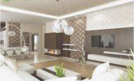 Modern Salon Duvar Dekorasyonu Örnekleri
